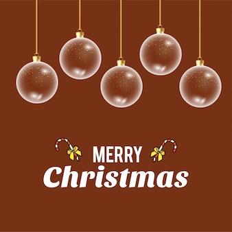 創造的なデザインのベクトルとメリークリスマスカード