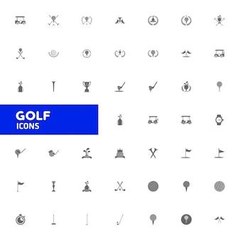 Гольф большая коллекция иконок