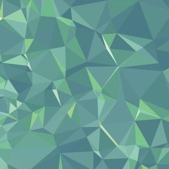緑のポリゴンの背景
