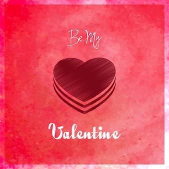 Будь моим валентином карты