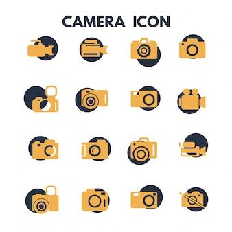 写真カメラのアイコン