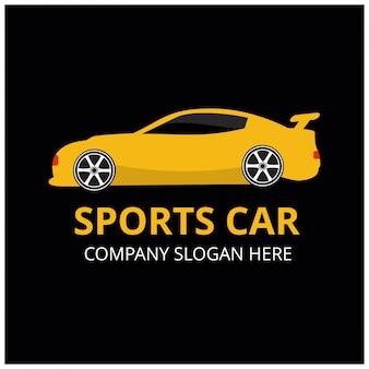 Значок спортивного автомобиля