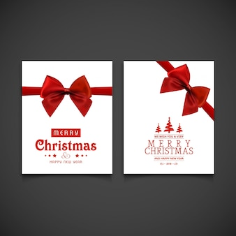 Рождественская поздравительная открытка или дизайн плаката