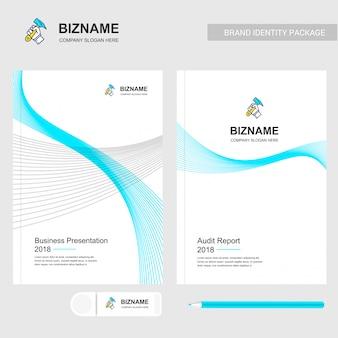 会社のパンフレットデザイン