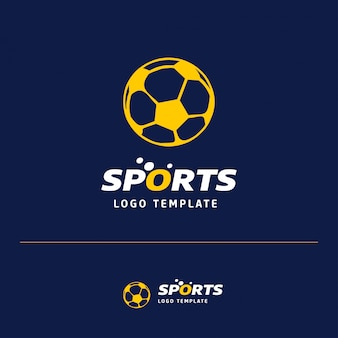 フットボールのロゴデザイン