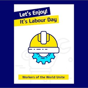 幸せな労働日のデザイン