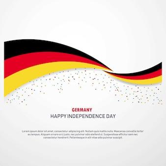 ドイツ幸せな独立の日の背景