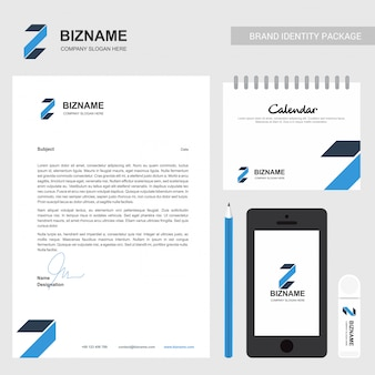ビジネスパンフレットおよび固定デザイン