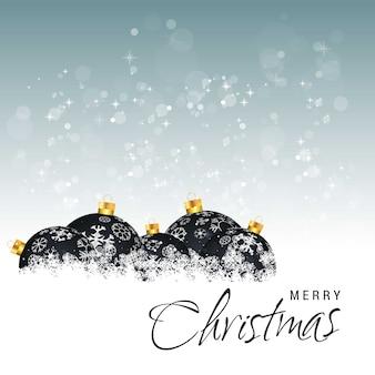 Рождественская открытка с творческим элегантным дизайном