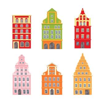 Набор с декоративными домами нидерландов