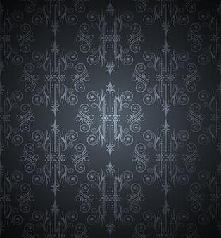 暗いシームレスに壁紙