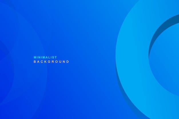シンプルな青色の背景