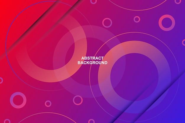 Абстрактный современный круг формы градиента цвета фона