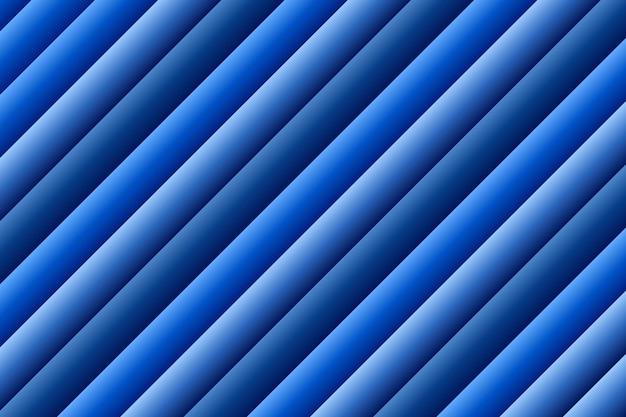 カラフルな青のストライプの背景