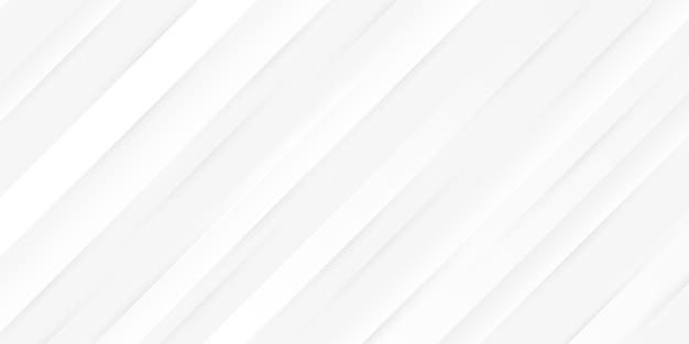 動的な最小限の空白ホワイトストライプテクスチャ背景