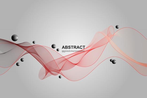 動的な抽象的な液体の背景