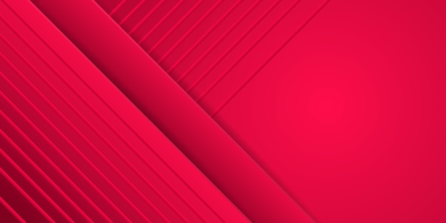 抽象的な動的な赤の幾何学的な背景