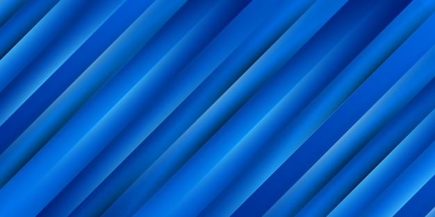 Синий фон с абстрактным динамическим градиентом гладкой текстурой
