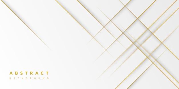 最小限の抽象的な光の銀と金の背景