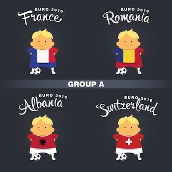 グループサッカー選手