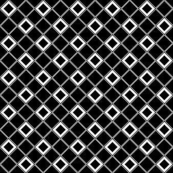 市松模様のタイル黒と白