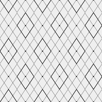 菱形で作られた単色パターン