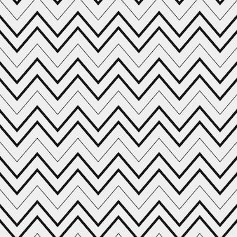 ジグザグの線で抽象的なパターン
