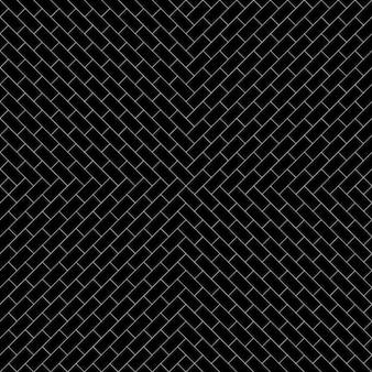 ブラックレンガのパターンの背景