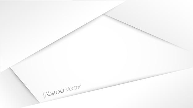 白灰色の背景ベクトルデザイン。
