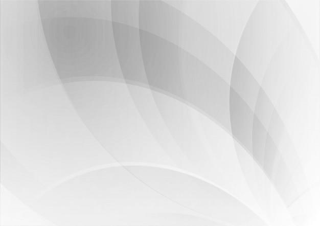抽象的な波の幾何学的な白とグレーの色の背景