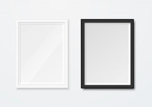 Реалистичные рамы для картин изолированные
