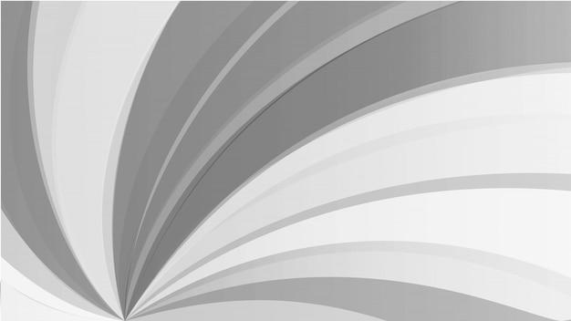 抽象的な線グラデーションの白とグレーの背景。