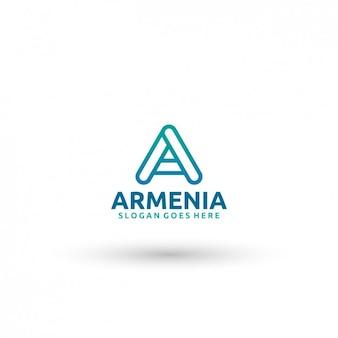 Армения шаблон логотипа