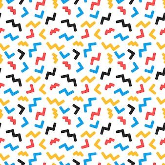 トレンディなスタイルの抽象的なシームレスパターン