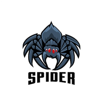 Иллюстрация логотипа спорта паука