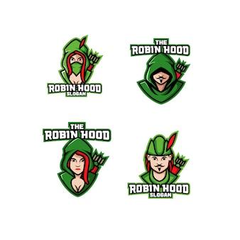 Набор робин гуд арчер логотип