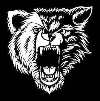 Волк медведь