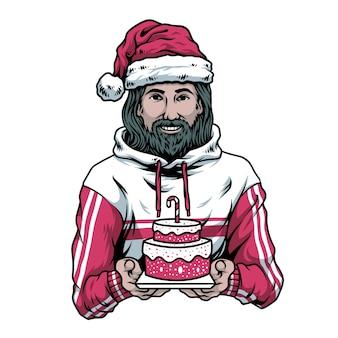 誕生日男の子イエス