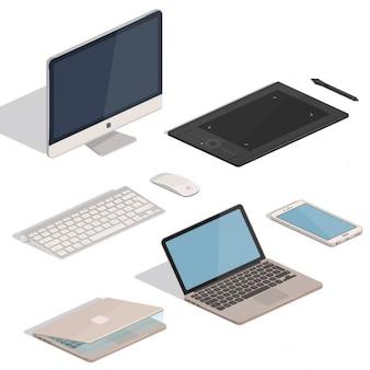 コンピュータタブレットアイテム