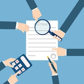 Подготовка бизнес контракта