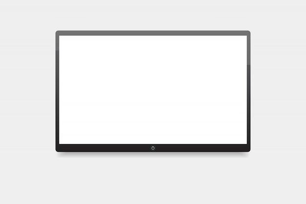 テレビ、壁に掛かっているスクリーンテレビを主導