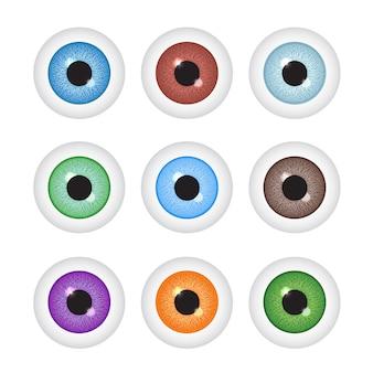 リアルな眼球セット