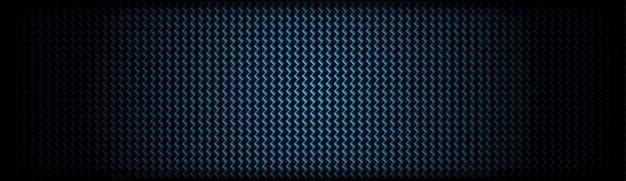抽象的な暗い青炭素繊維テクスチャパターン背景