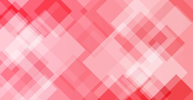 モダンなデザインと抽象的なピンクの背景