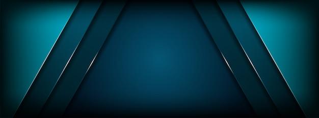 豪華な明るい青い線モダンな背景ベクトルイラスト
