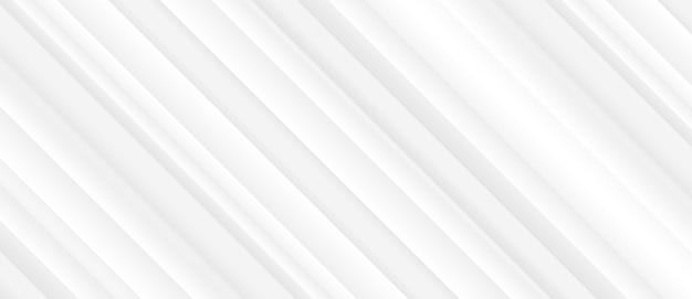 光沢のあるラインとエレガントな白い背景