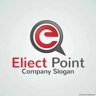会社の赤いロゴ
