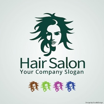 ヘアサロンのロゴ