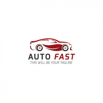 自動車会社のロゴテンプレート