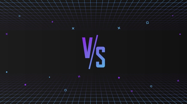 В сравнении с фоном футуристический синтезатор ретро фон волны с движением геометрических фигур
